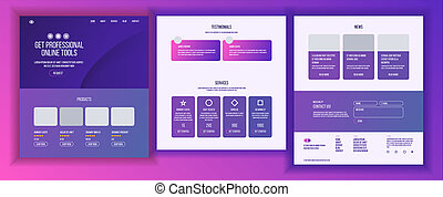 Website Page . Business Website. Web Page. Landing Design Site Scheme Template. Creativity Goal. Human Resources. Meeting Teamwork. Illustration