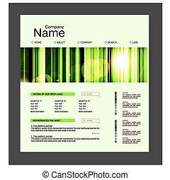 website, projektować