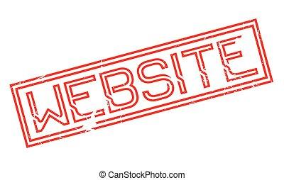 Website rubber stamp