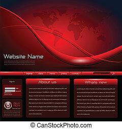 website, sablon