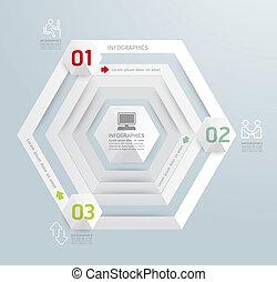 website, sein, stil, gebraucht, plan, vektor, modern, linien, /, oder, banner, infographic, design, numeriert, schablone, infographics, grafik, freisteller, horizontal, minimal, buechse