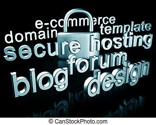 Website services concept