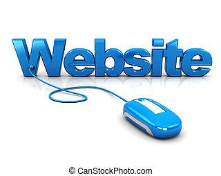 website, steuerung