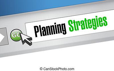 website, strategien, planung, begriff, zeichen