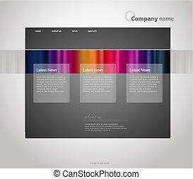 website, stripes., sablon