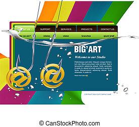 website, szablon