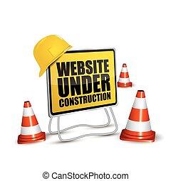 website, szerkesztés, alatt