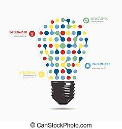 website, zijn, stijl, gebruikt, opmaak, licht, vector, moderne, lijnen, /, of, infographic, ontwerp, groenteblik, mal, infographics, grafisch, cutout, punt, horizontaal, minimaal