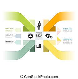 website, zijn, stijl, gebruikt, opmaak, vector, moderne, lijnen, /, of, banieren, infographic, ontwerp, genummerde, mal, infographics, grafisch, cutout, horizontaal, minimaal, groenteblik