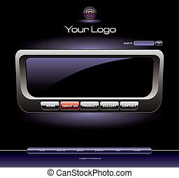 Websiteradio chrome template