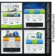 exclusive website business templates, first set