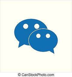 Wechat social media mobile application