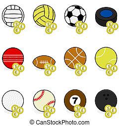 wedden, sporten beelden