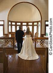 wedding., 教会