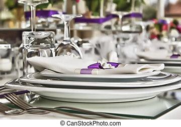 wedding 3 - wedding table