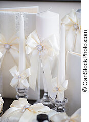 Wedding accessories for the morning of the bride