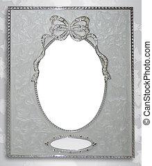 Wedding album cover frame