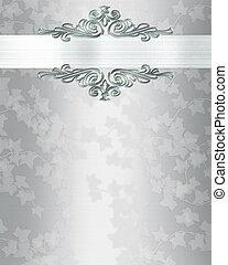 Wedding anniversary invitation background - Image and...