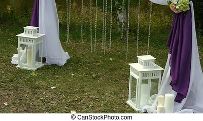 wedding arch, decor, ceremony, flowers,