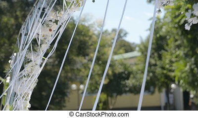 wedding arch