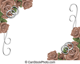 Wedding background, invitation card