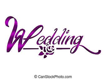 Wedding, Beschriftung - wedding, beschriftung