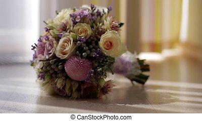 Wedding bouquet. - Beautiful wedding bouquet for the bride.