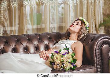 Wedding bouquet hotel
