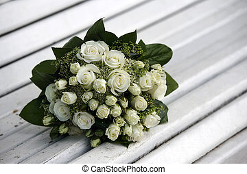 Wedding bouquet - The forgotten wedding bouquet from roses