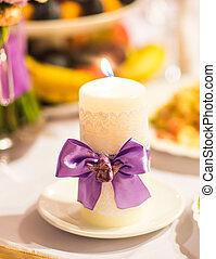 wedding candles decoration