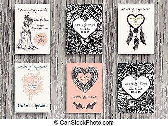 wedding card august