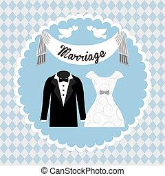 wedding card design, vector illustration eps10 graphic