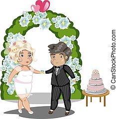Wedding Celebration, Getting Married