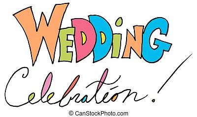 wedding celebration message - An image of a wedding...