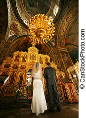 Wedding ceremony - Before the wedding ceremony - inside...