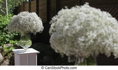 Wedding ceremony decoration
