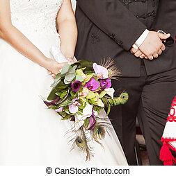 Wedding ceremony in church - Wedding ceremony in catholic...