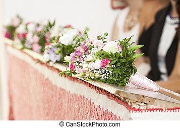 Wedding ceremony in church - Wedding ceremony in the church