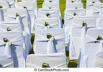 wedding Chair setup
