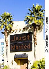 wedding chapel, Las Vegas, Nevada, USA