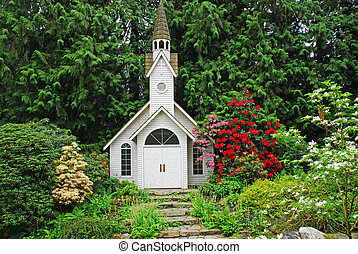 wedding chapel - chapel in the country