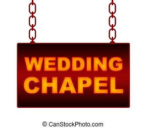 Vegas wedding. A bridge and groom kissing