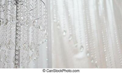 Wedding crystal decorations