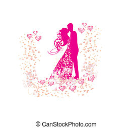 wedding dancing couple background