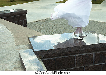 wedding day - bride