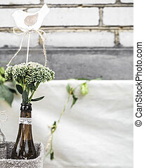 wedding decor bottles