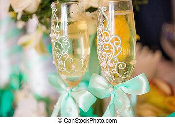 Wedding decor, flowers
