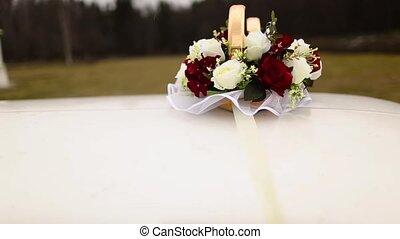 Wedding decoration for limousine - Wedding decoration ring...