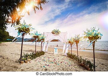 Wedding decoration in Thai