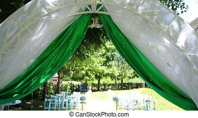 wedding decoration on ceremony - wedding decoration on...